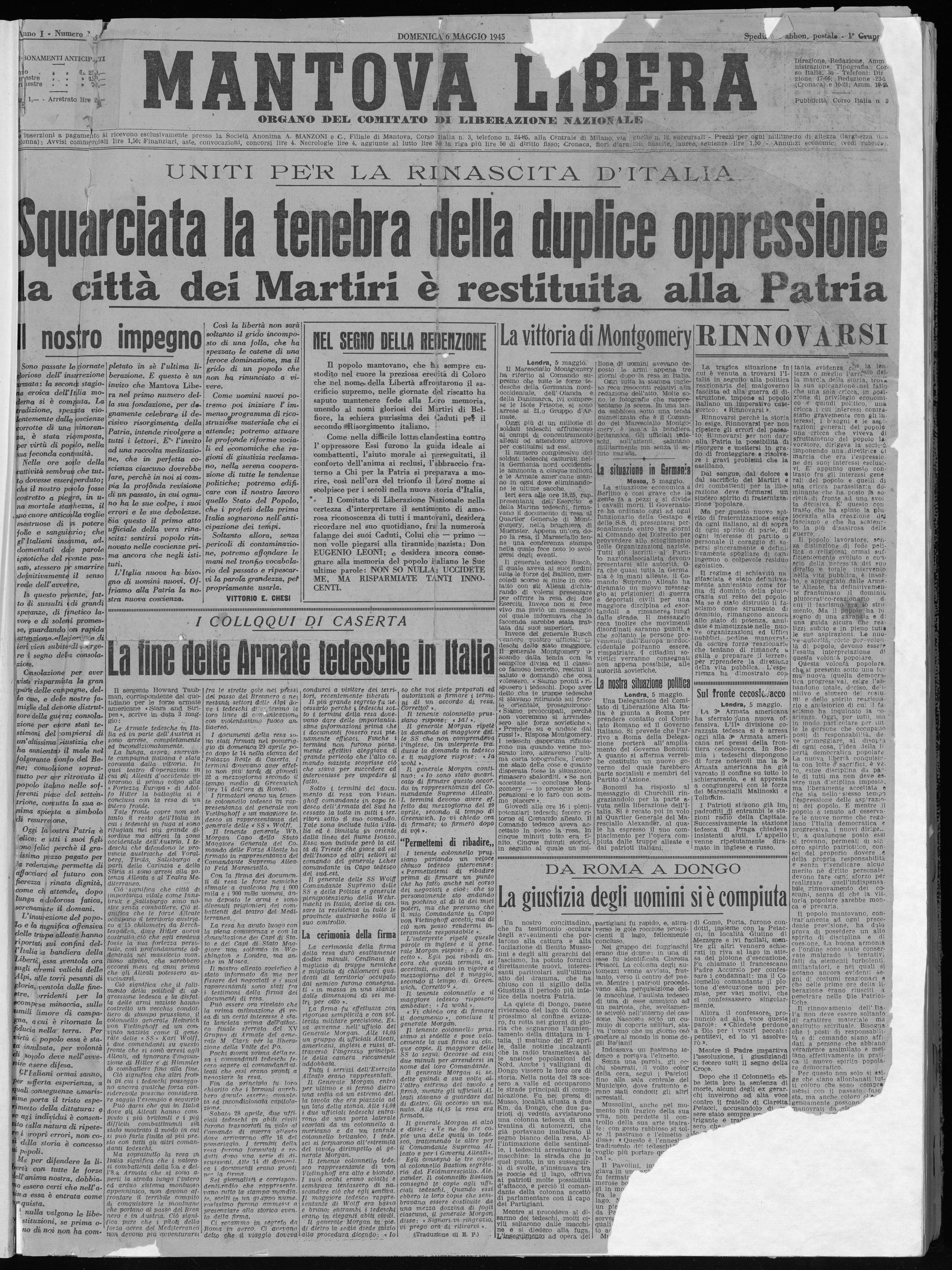 La Gazzetta di Mantova (1901 - 1986)