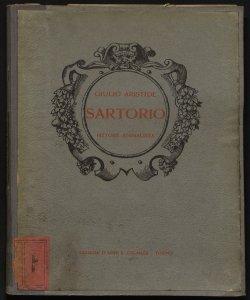 Giulio Aristide Sartorio pittore animalista con introduzione di Luigi Serra