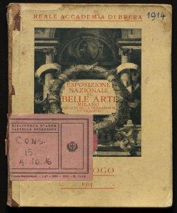 Esposizione nazionale di belle arti autunno 1914