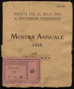 Mostra annuale 1916 catalogo