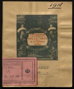 Esposizione nazionale di belle arti autunno 1918