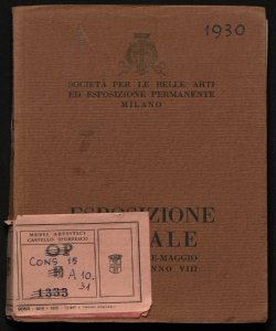 Esposizione sociale marzo-aprile-maggio 1930