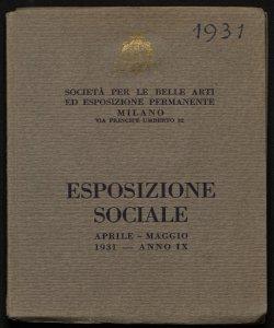 Esposizione sociale aprile-maggio 1931