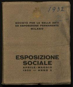 Esposizione sociale aprile-maggio 1932