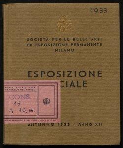 Esposizione sociale autunno 1933