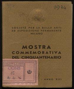 Mostra commemorativa del cinquantenario dicembre 1934