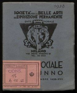 Mostra sociale d'autunno novembre-dicembre 1938