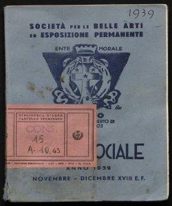Mostra sociale anno 1939