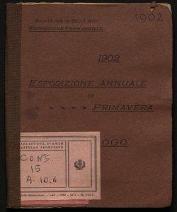 Esposizione annuale di primavera 1902
