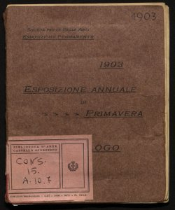 Esposizione annuale di primavera 1903