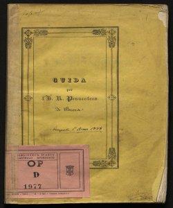 Guida per l'i. r. Pinacoteca di Brera
