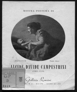 Mostra postuma di Alcide Davide Campestrini 1863-1940