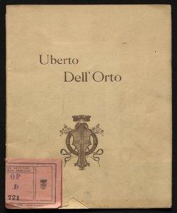 Uberto Dell'Orto, 1848-1895