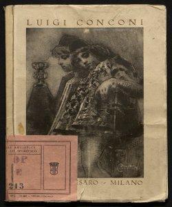 Mostra individuale di Luigi Conconi, pittore-architetto Galleria Pesaro, Milano, dicembre 1920