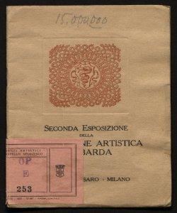 Seconda Esposizione della Federazione artistica lombarda 1918, aprile-maggio