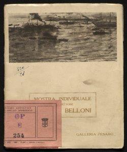 Mostra individuale di Giorgio Belloni