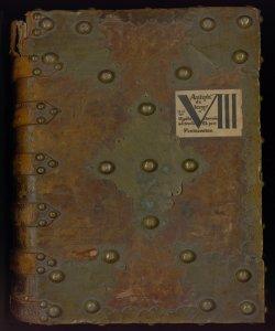 Antiphonale officii. Antiphonarium de Tempore a vigilia Ascensionis ad dominicam 24 post Pentecostes. VIII