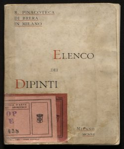 Elenco dei dipinti della Pinacoteca di Brera in Milano