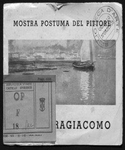 Mostra postuma del pittore Pietro Fragiacomo [Galleria Geri