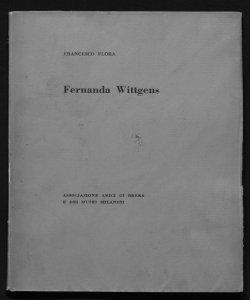 Fernanda Wittgens Piccolo Teatro di Milano, 11 gennaio 1958 Francesco Flora