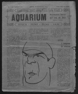 Aquarium acqua, pesci e pesci... cani caricature di Bazzi
