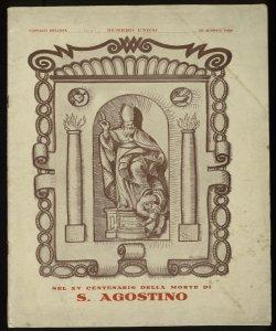 Cassago per S. Agostino nell'anno 1930