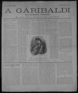 A Garibaldi numero unico ricorrendo il decimo anniversario della morte dell'eroe [redattore: Ulisse Cermenati!