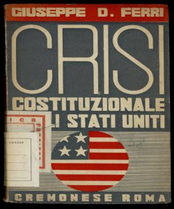 Crisi costituzionale negli Stati Uniti Giuseppe D. Ferri