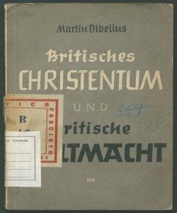 Britisches Christentum und Britische Weltmacht von Martin Dibelius
