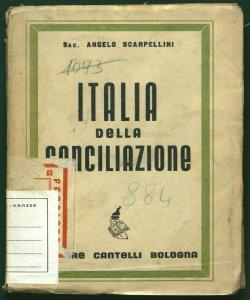 Italia della conciliazione Angelo Scarpellini
