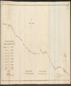 Misure delle livellazioni [dei terreni a Ripa Alta delli Prati e le Gromaglie della famiglia Giovanelli], con le oncie del Cavezzo Gio. Batta Cagnana, perito