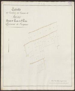 Estratto del territorio del Comune di Suisio Distretto 3. Ponte di S. Pietro Provincia di Bergamo