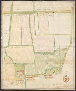 [Mappa delle proprietà della Famiglia Giovanelli in Romano] Gio. Batta Cagnana, perito collegiato