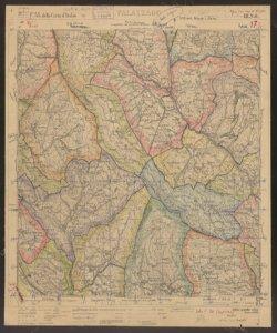 F. 33 della Carta d'Italia, 3. N.O.: Palazzago Istituto geografico militare