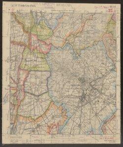 F. 33 della Carta d'Italia, 3. S.E.: Bergamo / Istituto geografico militare