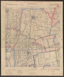 F. 46 della Carta d'Italia, 1. S. O.: Martinengo / Istituto geografico militare