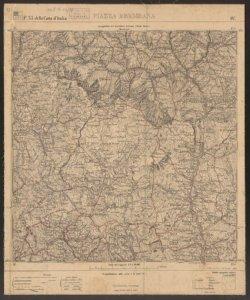 F. 33 della Carta d'Italia, 4.: Piazza Brembana / Istituto geografico militare