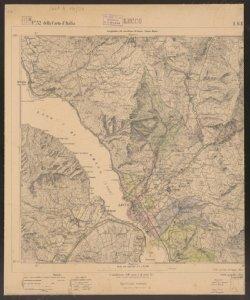 F. 32 della Carta d'Italia, 1. S.E.: Lecco / Istituto geografico militare
