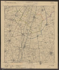 F. 46 della Carta d'Italia, 4. N.E.: Verdello / Istituto geografico militare [2. copia]