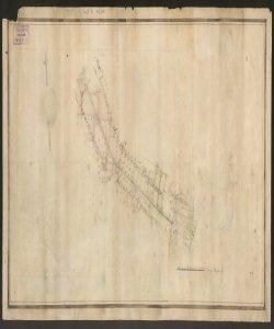 [Mappa dei confini tra Comuni di Bariano bergamasco e Fornovo cremonese]
