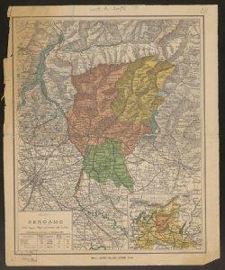 Provincia di Bergamo Censimento ufficiale 31 dicembre 1881