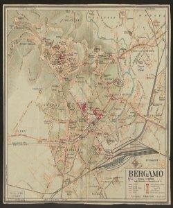 Bergamo scala 1:10000