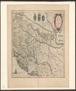 Sclavonia Croatia Bosnia cum Dalmatiae parte Auct. Ger. Mercatore