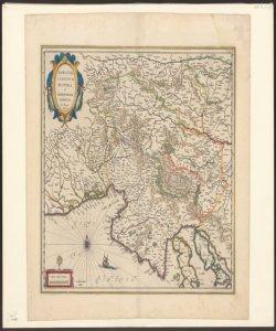 Karstia Carniola Histria et Windorum marchia Ger. Mercatore auctore
