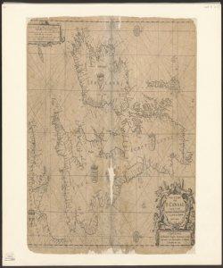 ^Pas caart van 't Canaal Vertoonende in 't Geheel Engelandt, Schotlandt, Yrlandt, en een gedeelte van Vranckryck