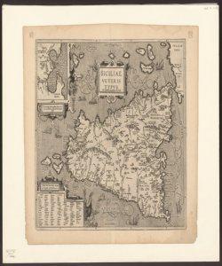 Siciliae veteris typus ex Conatibus geographicis Ab. Ortelij