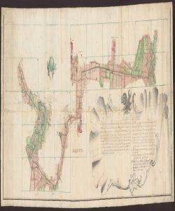 Mappa topografica del Confine Bergamasco collo Stato Milanese [redatta da] Paolant.o Cristiani Pubb.co Veneto Ingeg.re Delego alli Veneti Confini
