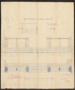 Parapetto del Sacrato parrocchiale verso la nuova Contrada da aprirsi in Colognola al Piano / Ing. Eugenio Mandelli, Giacomo Leoni