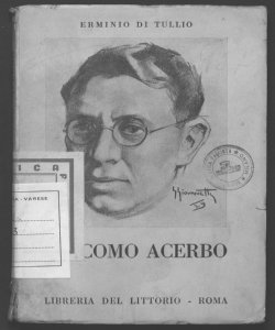 Giacomo Acerbo Erminio Di Tullio