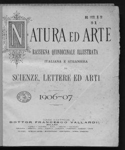 1906-1907 Numeri 1-6
